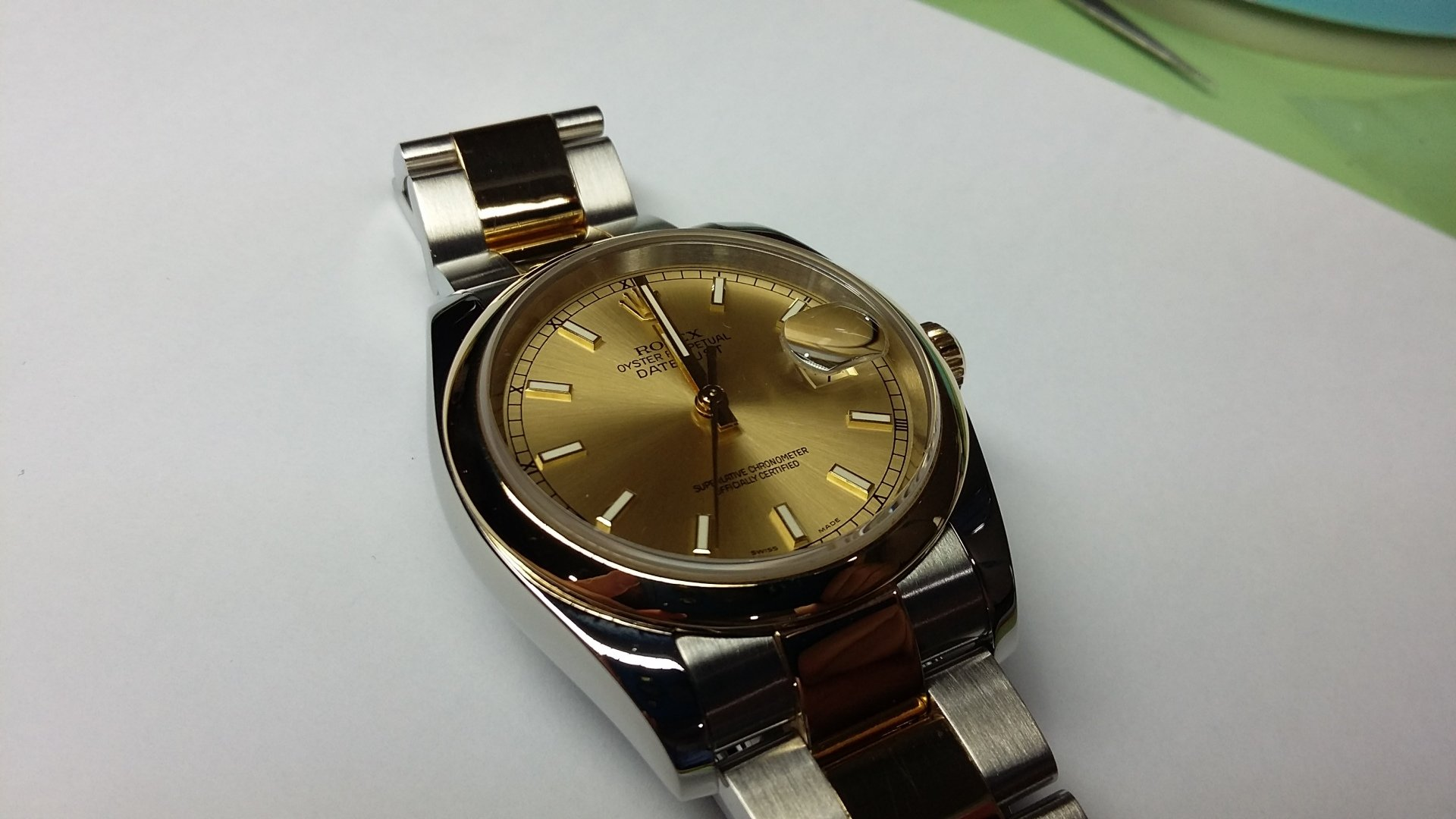FULLY SERVICED WATCH