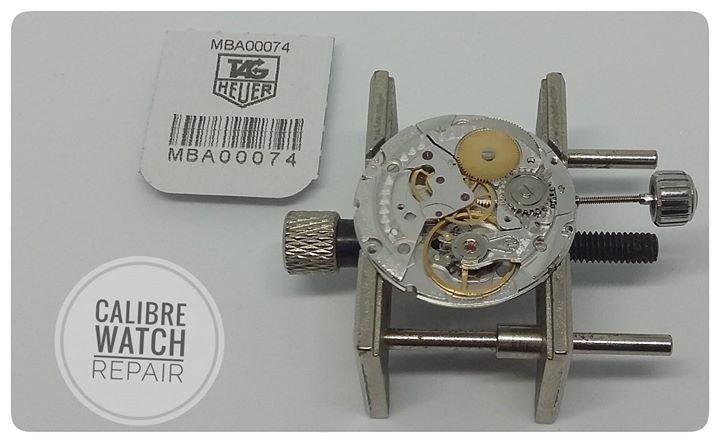 calibre watch repair covering image