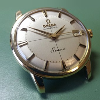 omega watch recently serviced in glasgow