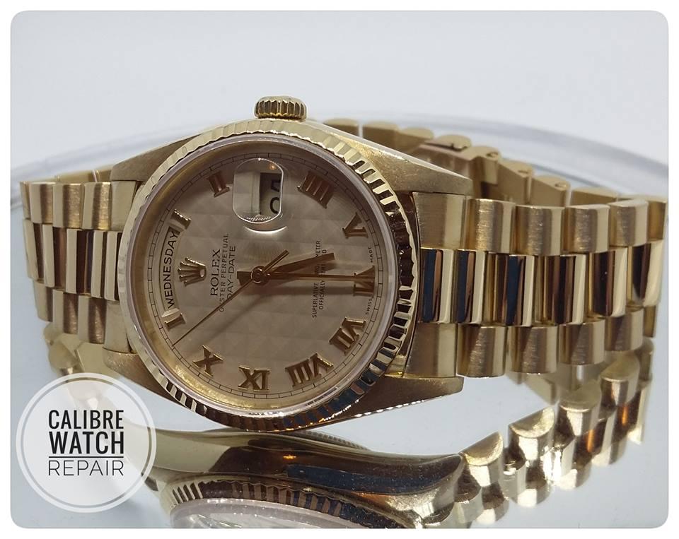 image of calibre rolex watch