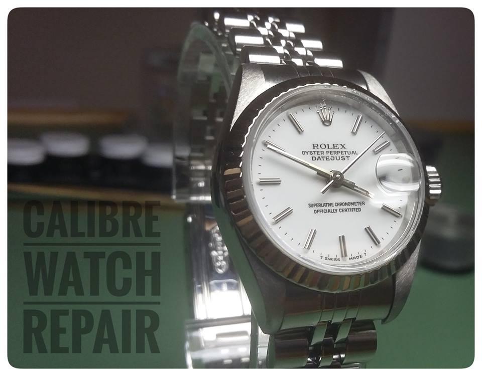 calibre rolex repair watch just serviced